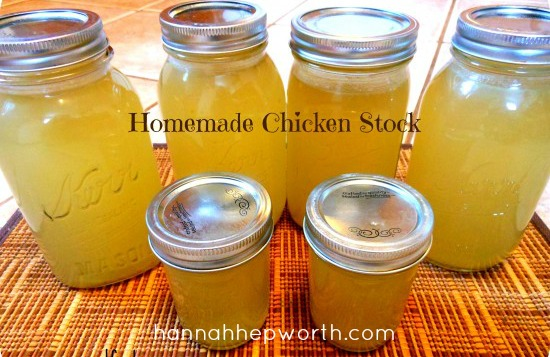 Homemade Chicken Stock - Anxiety Relief For Women| Essential Oils ...