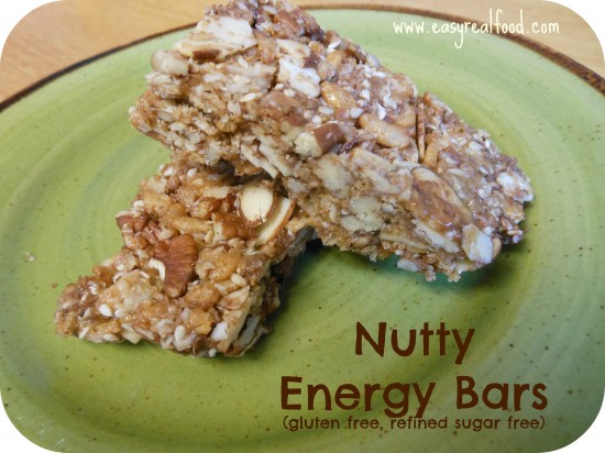 bars are one of my favorite snacks instead of an oat based granola bar ...