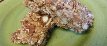 Nutty Homemade Energy Bars