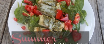 Summer Pesto Chicken Salad