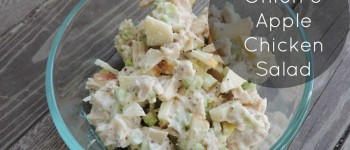 Green Onion And Apple Chicken Salad