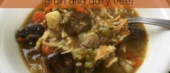 Chicken Soup For The Flu (grain and dairy free)