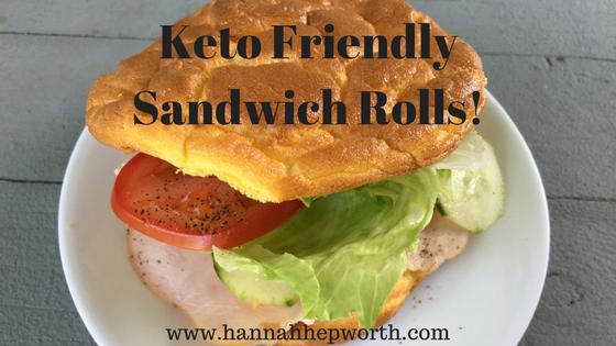 Keto Friendly Sandwich Rolls! | www.hannahhepworth.com